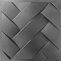 """Форма для плитки из гипса и бетона """"Переплет"""""""