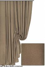 Ткань для штор портьер микровелюр или мультилюкс арт 1651 цвет 119 темно-бежевый