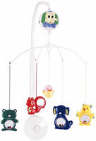 Музыкальный пластиковый мобиль на кроватку Веселый зоопарк, Canpol babies (2/906)