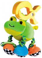 Мягкая вибрирующая игрушка-подвеска Лягушка, Canpol babies (68/010-3)