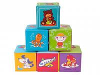 Мягкие кубики 6 шт., Canpol babies (2/817)