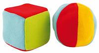 Набор погремушек Мячик и Кубик, Canpol babies (2/893)