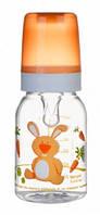 Тритановая бутылочка 120 мл (оранжевая), Canpol babies (11/851-2)