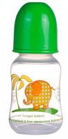 Бутылочка с узким горлышком, 120 мл, салатовая,  Canpol babies (59/100-5)