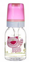 Тритановая бутылочка 120 мл (розовая), Canpol babies (11/851-4)