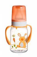 Бутылочка для кормления Ферма 120 мл (желтый зайчик), Canpol babies (11/823-3)
