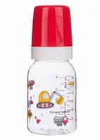 Бутылочка BPA-Free Машинки, 120 мл (красная), Canpol babies (11/849-3)