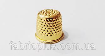 Наперсток  №10  для  ручного шитья  золото