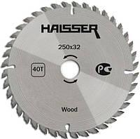 Диск пильный по дереву Haisser 250х32мм 40 зуб.