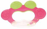 Погремушка-зубогрызка Жабка розовая, Canpol babies (74/001-2)