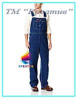 Мужской джинсовый комбинезон с вашим логотипом (под заказ от 50 шт)