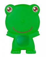 Резиновая игрушка Happy, зеленая лягушка, Canpol babies (9/934-3)