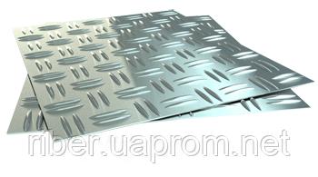 Лист рифленый г/к А4 (1250х6000, 1ПС, 3 ПС), фото 2