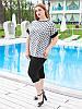 """Женская футболка из вискозы """"Прери"""" большого размера, фото 2"""