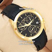 Часы Tissot quartz Chronograph Gold/Black. Replica: ААА., фото 1