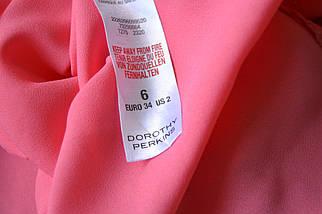 Розовый шифоновый топ Dorothy Perkins, фото 3