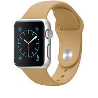 Ремешок Sport Band для Apple Watch 42mm коричневый