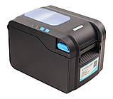 Чековий принтер Xprinter XP-370B 80мм, принтер етикеток, термопринтер, фото 2