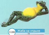 Жаба на отдыхе