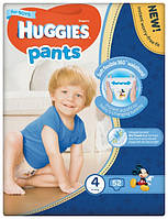 Трусики Huggies Pents для мальчиков 4 (9-15 кг) 52 шт.