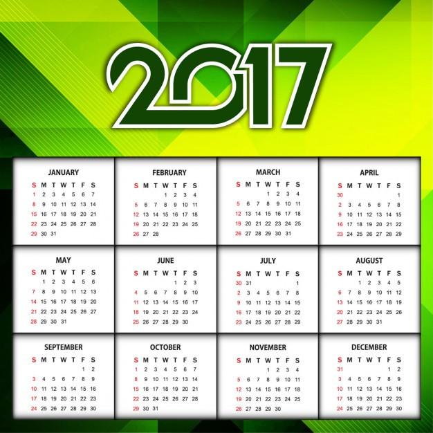 Календарь на год дизайн в Днепре