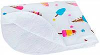 Клеенка для пеленания ребенка (мороженое), Canpol babies (9/431-1)