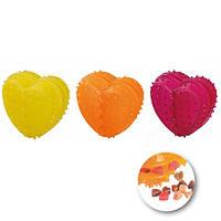 Игрушка для лакомств Karlie-Flamingo Good4Fun Heart Refillable для собак резина, 8х8х5 см