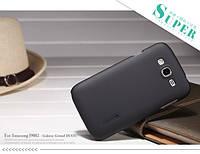 Чехол Nillkin Matte для Samsung i9060/i9082 Galaxy Grand Duos (+ пленка) черный