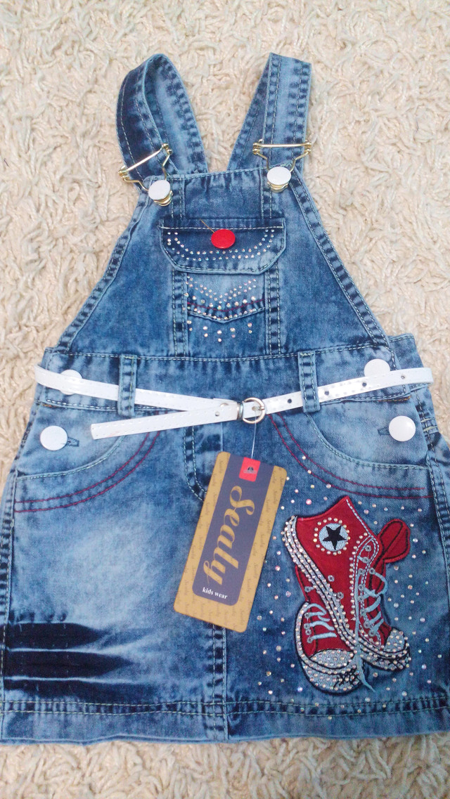 Нарядный джинсовый сарафан Bike 5, 6, 7, 8 лет