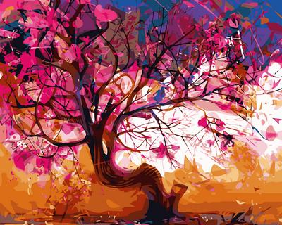 Набор-раскраска по номерам Цветение