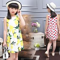 Модні літні сарафани для дівчаток