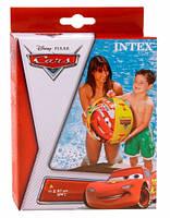Мяч надувной Тачки (Disney Cars) 61 см, Intex (58053)