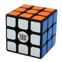 Игрушка-головоломка Куб Qinghong 3×3 black, KungFu (YMQH01)