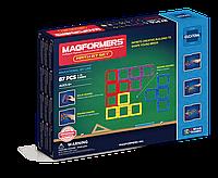 Магнитный конструктор Magformers Увлекательная математика, 87 элементов