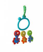 Ключики с колечком, игрушка-прорезыватель, Nuby (6584)