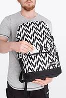 Городской рюкзак черный с принтом B3 MOVE Urban Planet 30л. (рюкзак женский, рюкзак мужской, для города)