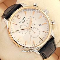 Часы Tissot 1863 quartz Chronograph Gold/White. Replica: AAA., фото 1