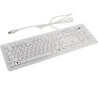 Клавиатура Genius SlimStar 130 White, USB, стандартная