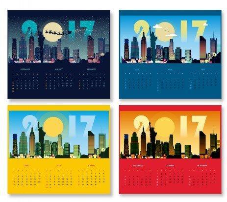 Дизайн календаря 2017 в Днепре