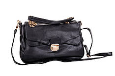 Сумка-портфельчик маленькая женская черная Masquenada
