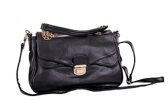 Сумка-портфельчик маленькая женская черная Masquenada , фото 2