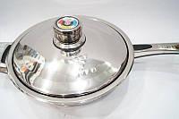 Сковорода Swiss Zurich 24см SZ-152 (хирургическая сталь, 7 капсульных слоёв, зеркальная полировка)
