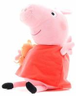 Мягкая игрушка Пеппа с игрушкой (40 см), Peppa (31157)