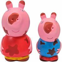 Пеппа и Джордж, набор игрушек-брызгунчиков Чистюля и грязнуля, Peppa (30219)