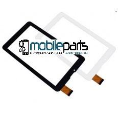 """Оригинальный Сенсор (Тачскрин) для планшета 7"""" FM707101KD (184х104 мм, 30pin) (Белый - Самоклейка)"""