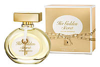 Туалетная Женская Antonio Banderas Her Golden Secret edt 80 ml