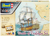 Model Set Корабль Admiral Nelson Flagship: Battle of Trafalgar, 1:225, Revell (5767)