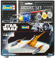 Model Set Космический корабль Naboo Starfighter, 1:109, Revell (63611)