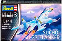 Истребитель Suchoi Su-27 Flanker, 1:144, Revell (3948)