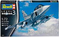Истребитель Saab JAS-39D Gripen TwinSeater, 1:72, Revell (3956)